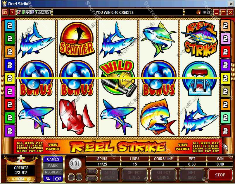 electronic slot machines how they work